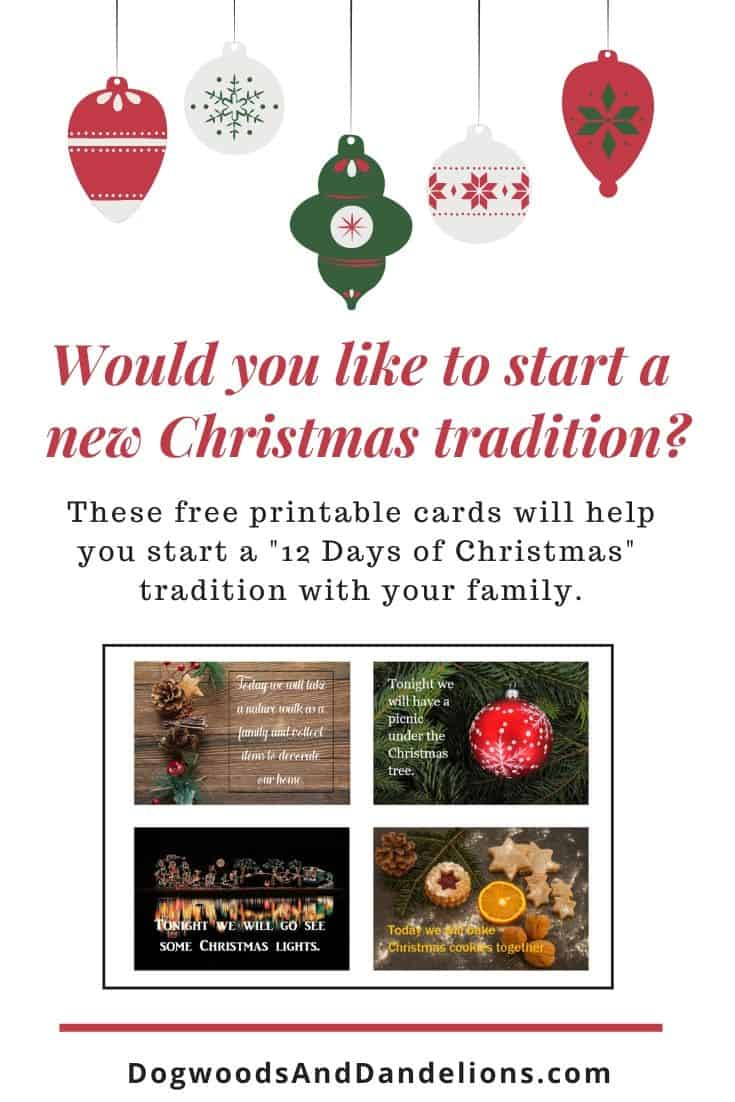 free 12 days of Christmas cards