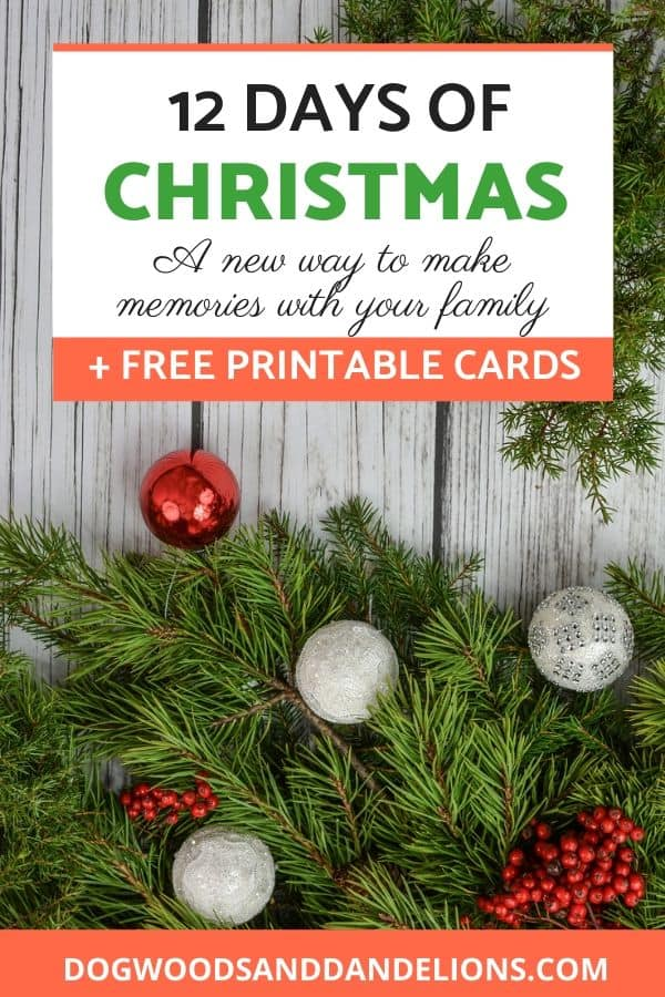 Create Christmas traditions with your family.
