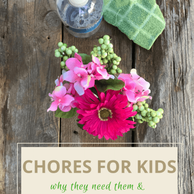 Chores for kids: Why they need them and what they learn by doing them
