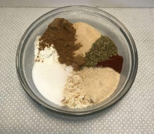 Taco seasoning mixture