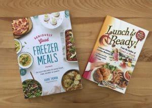 My favorite freezer cookbooks-easy make ahead freezer meals