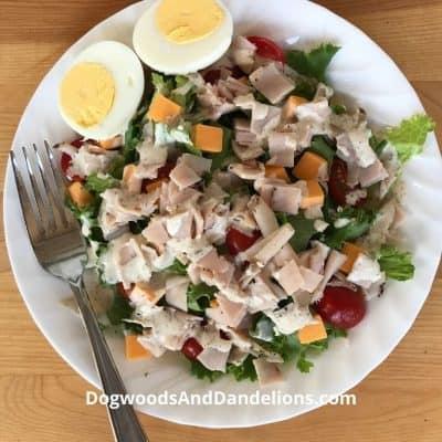 A Week of Main Dish Salads