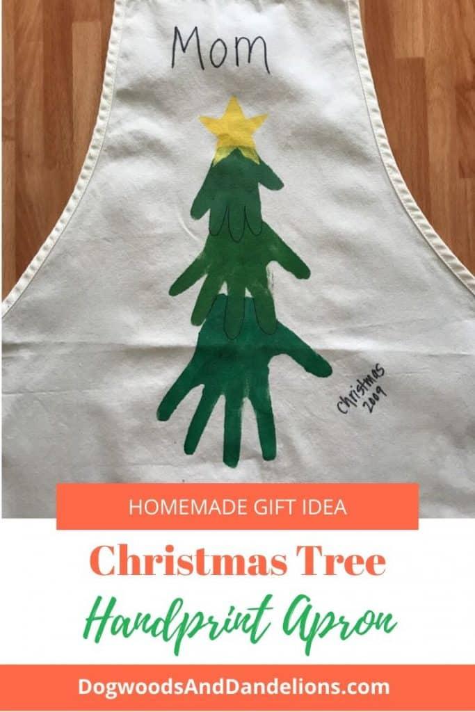 Hand prints on an apron