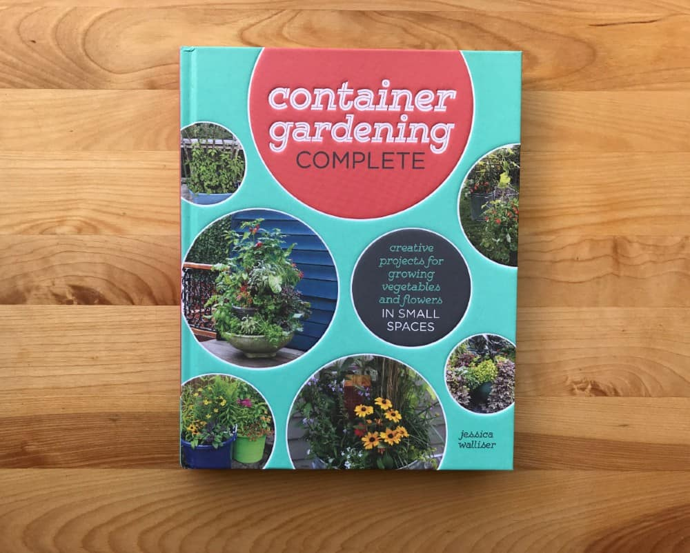 container gardening book for growing vegetables in containers