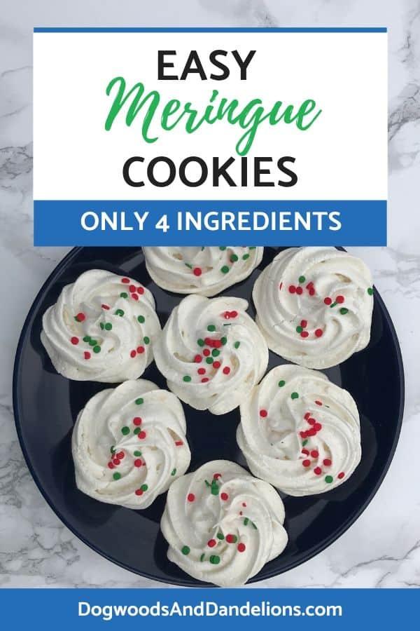 4 ingredient meringue cookies