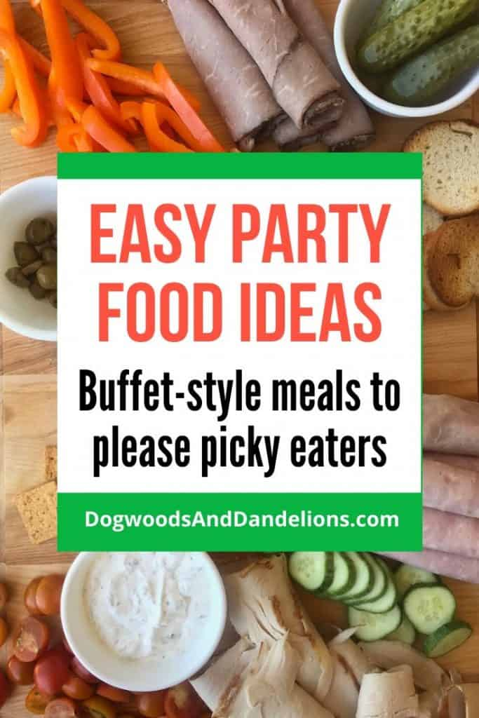 Easy party food ideas