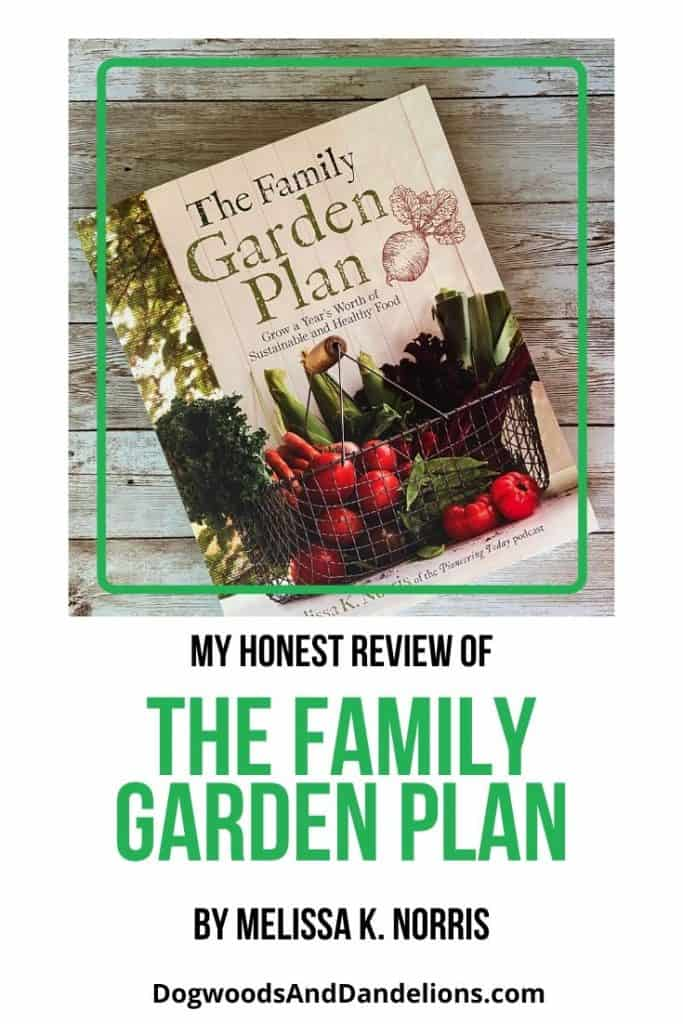 My honest review of The Family Garden Plan by Melissa K. Norris.