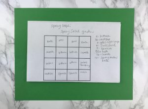 A 4' x 4' Garden Plan-This is one winter gardening chore you can do even with snow on the ground!