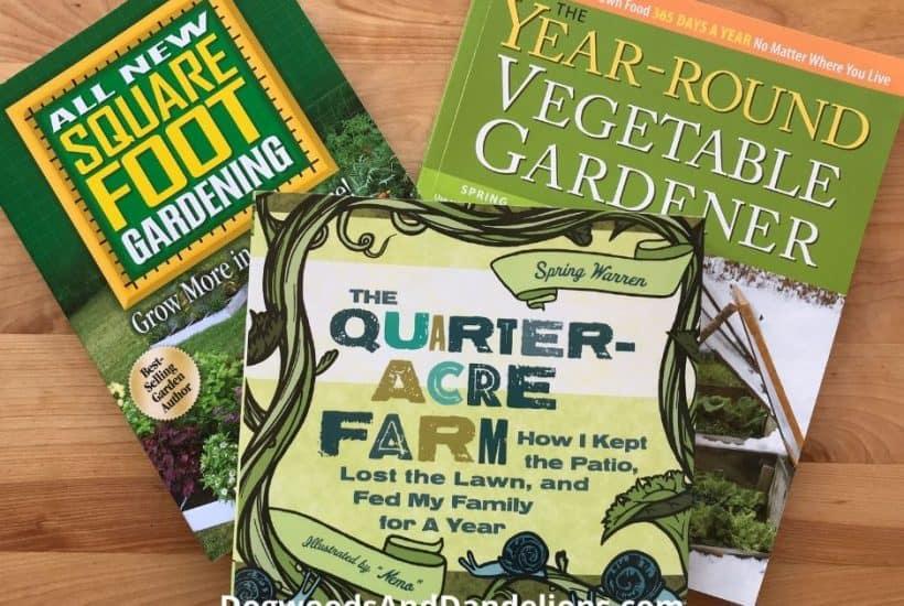 Books for the beginning gardener