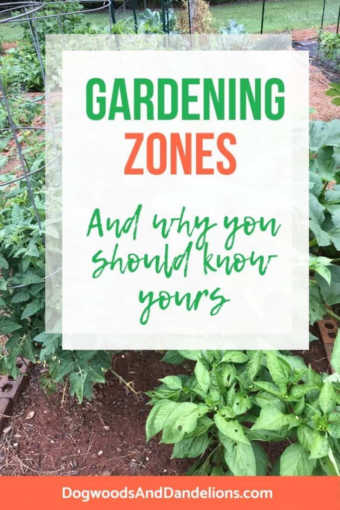 Why gardening zones are important