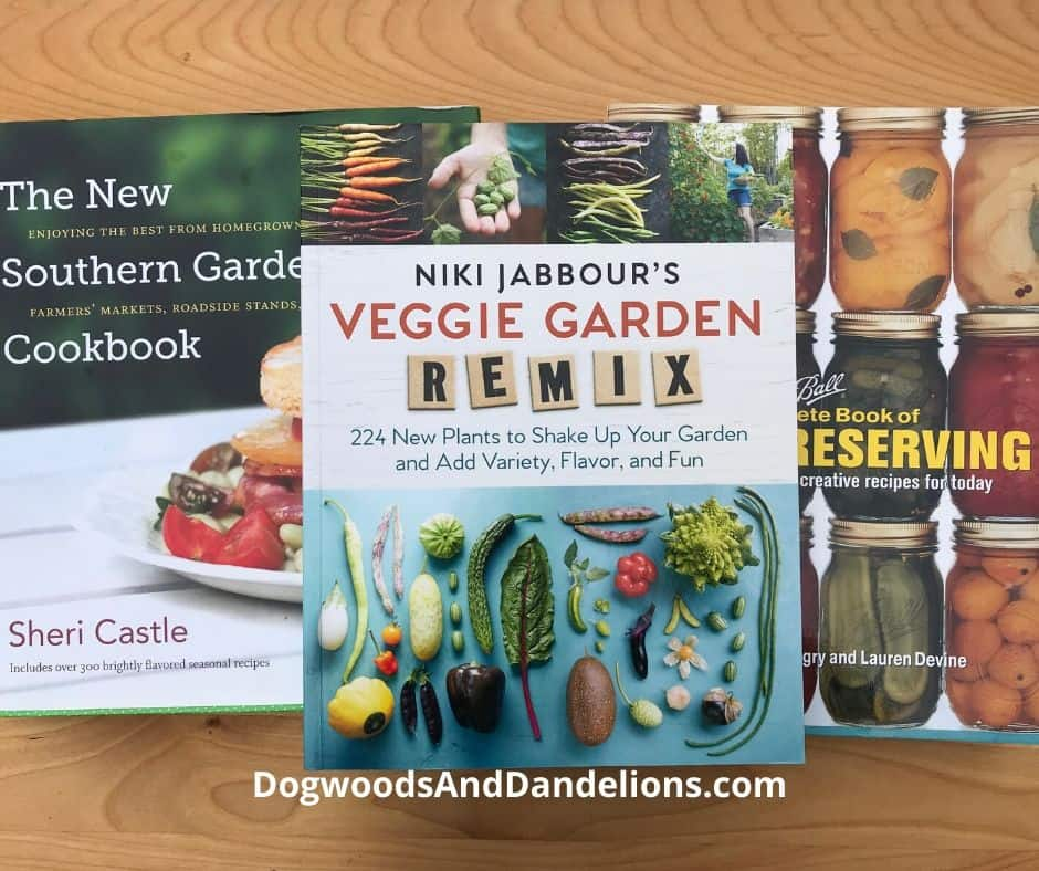 Gardening books make a great gift idea