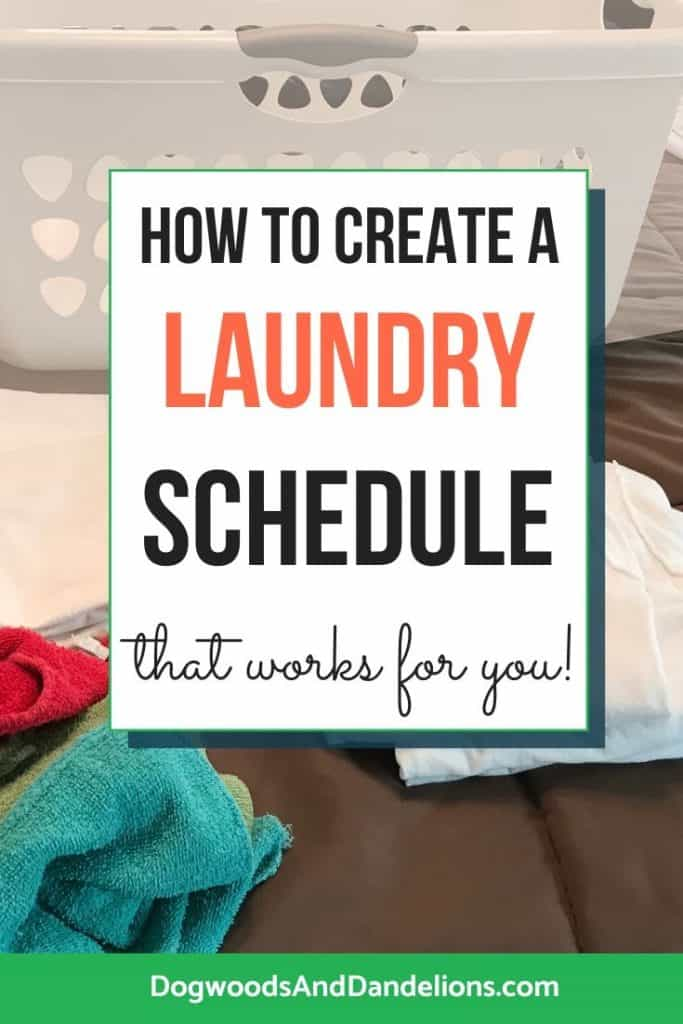 Creating a laundry routine