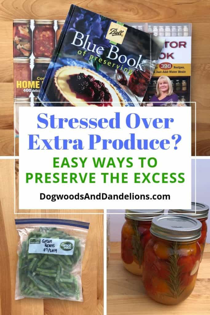 ways to preserve the harvest