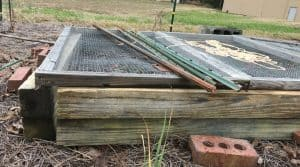A raised bed warms the soil up sooner so you can get your garden started earlier.