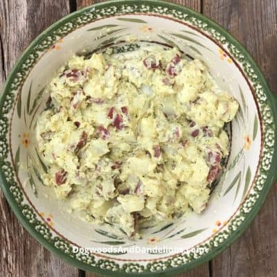 Ranch Potato Salad-A fresh take on an old standby