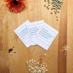 Saving Seeds & Proper Seed Storage