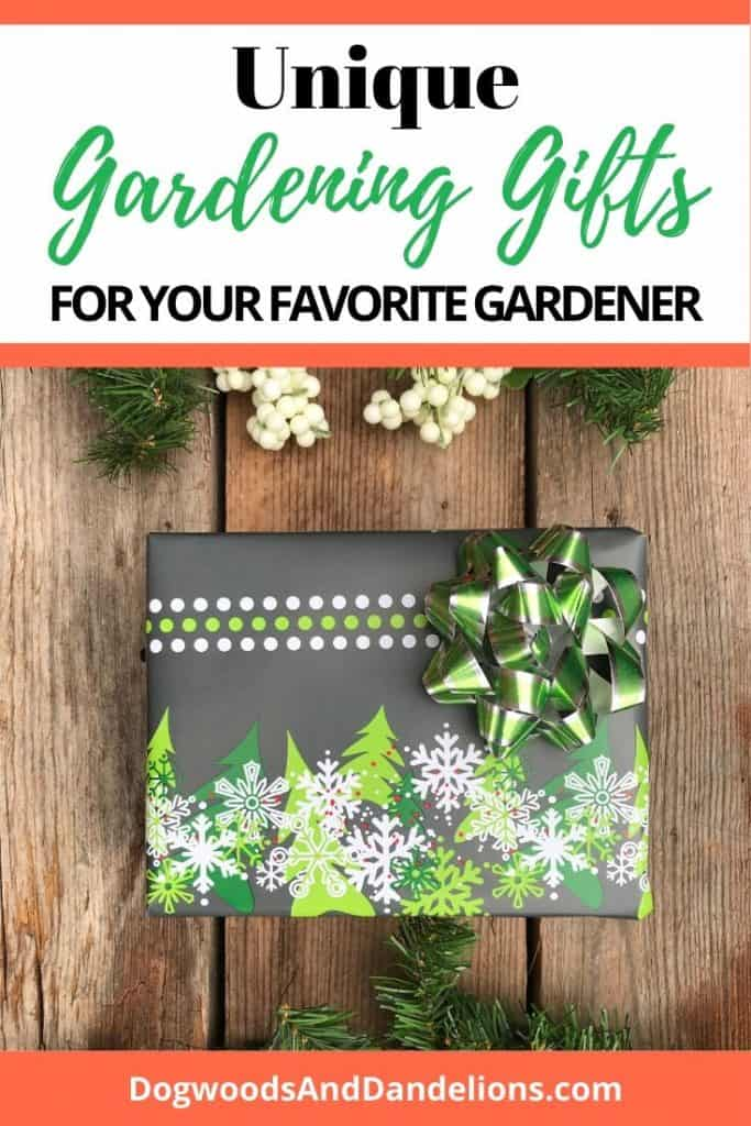 Unique gift ideas for the gardener