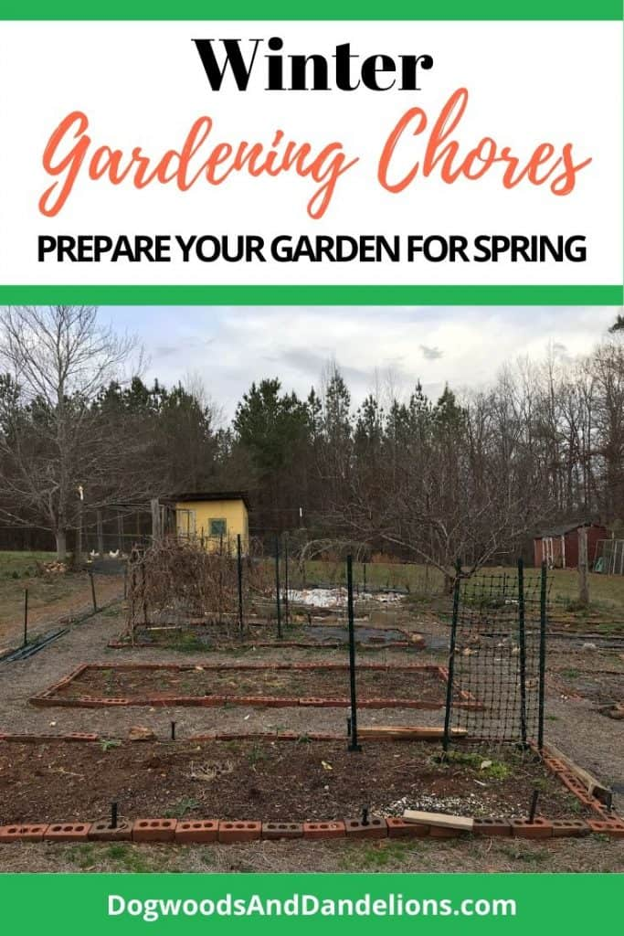 winter gardening chores that will prepare your garden for spring